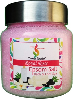 Aromakrafts Ultra Pure Epsom Salt with Royal Rose Aroma