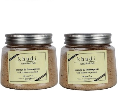 khadi Natural Herbal Bath Salt - Orange ...