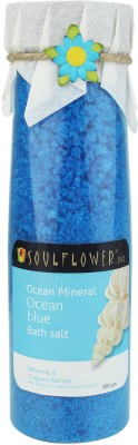 Soulflower Ocean Blue Ocean mineral Bath Salt