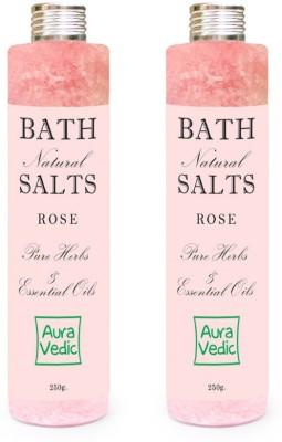 Auravedic Rose Bath Salts