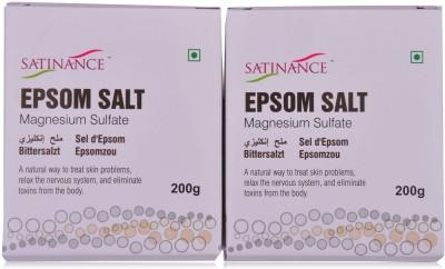 Satinance Epsom Salt 200gm - Pack of 2