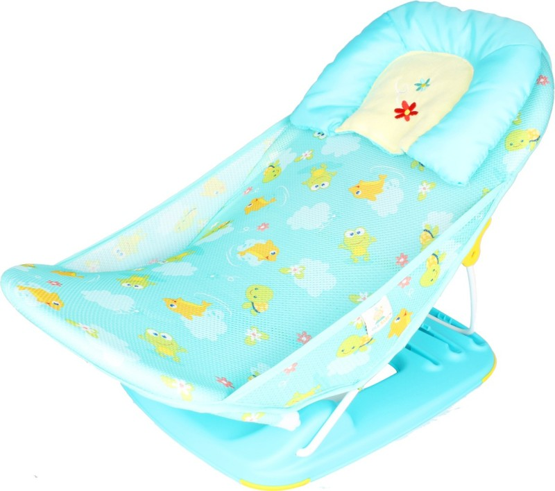 Ole Baby Deluxe Bather Baby Bath Seat(Cyan)