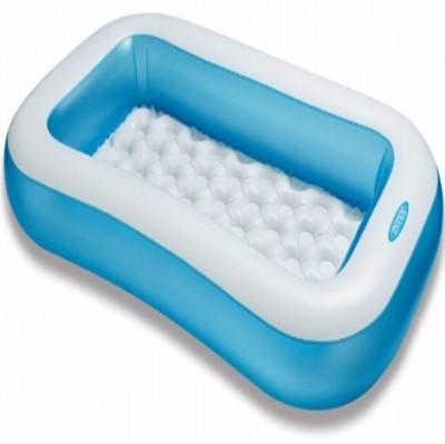Intex Inflatable 5 Feet Rectangular Bath Tub Baby Bath Seat