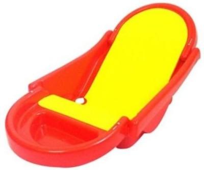 BKM&SONS Bath Tub Baby Bath Seat(Red, Yellow)