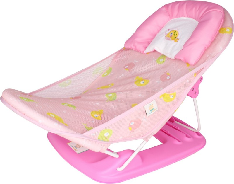 Ole Baby Deluxe Bather Baby Bath Seat(Pink)