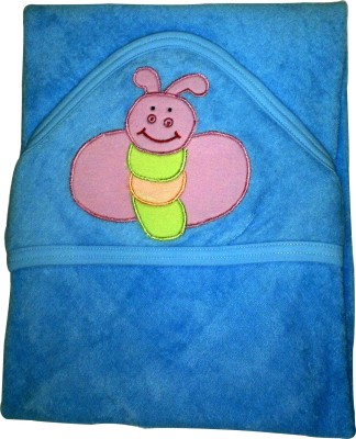 Xchildhood Baby hooded towel Baby Bath Seat(Blue)
