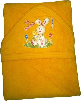 XChildhood hooded towel Baby Bath Seat(Yellow)