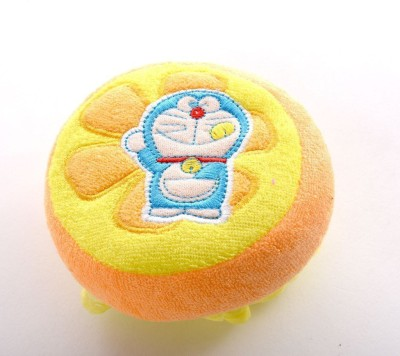 Baby Bucket Shower Body Cleaning Bath Sponge Doraemon