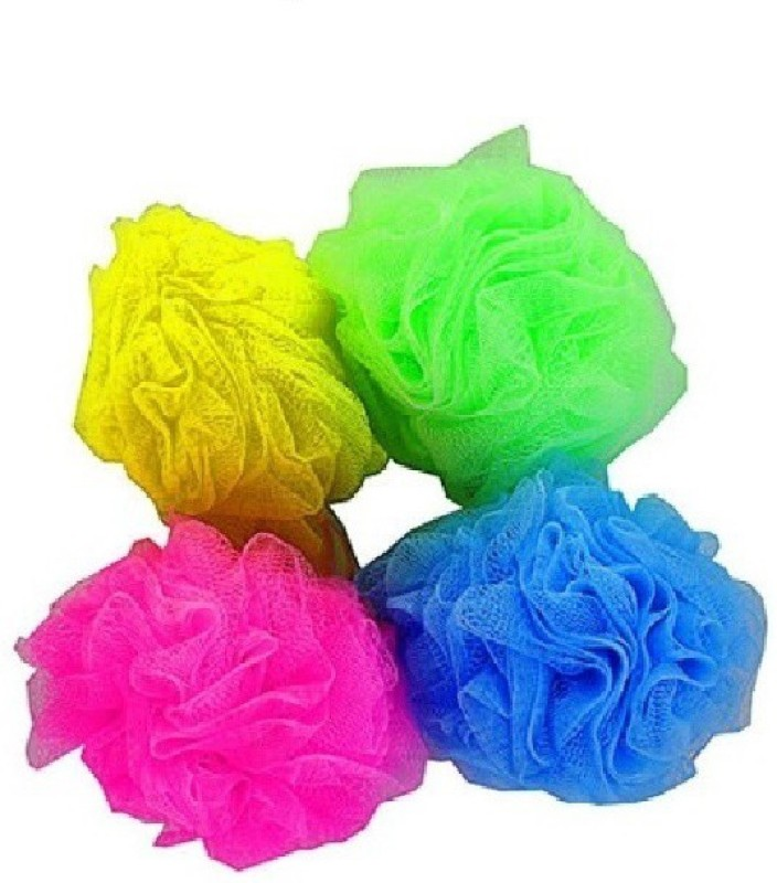 AntiqueShop Bathing Loofah Pack Of 4