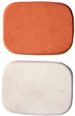Bare Essentials Compact Foundation Sponges - 2 Pcs