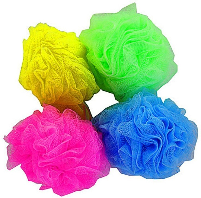 Globalgifts Bathing Loofah Four Piece Set