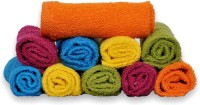 Jaipuriart Cotton Hand Towel(Pack of 10, Multicolor)