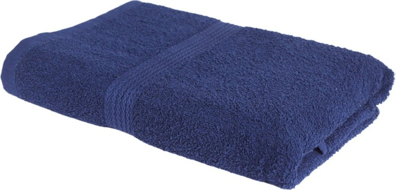 S Kumars Cotton Bath Towel(Navy Blue)