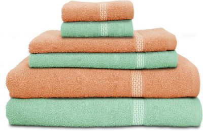 Swiss Republic Cotton Bath, Hand & Face Towel Set
