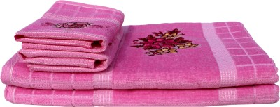 Mandhania Cotton Bath & Hand Towel Set