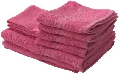 Lushomes Cotton Bath, Hand & Face Towel Set