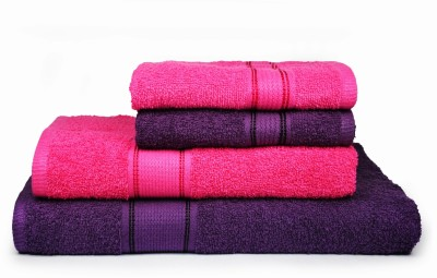 Eurospa Cotton Bath & Hand Towel Set