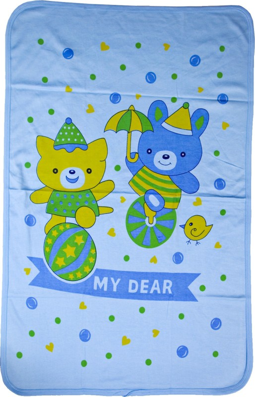 Love Baby Cotton Bath Towel(Blue)