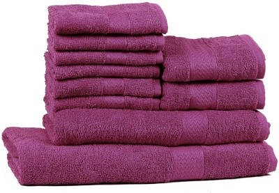 Trident Cotton Bath, Hand & Face Towel Set