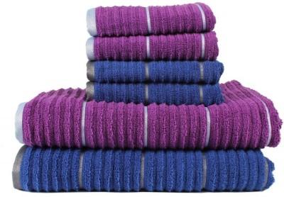 Casa Copenhagen Set of Towels, Bath Towel, Hand Towel