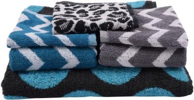 Softweave Cotton Bath, Hand & Face Towel Set