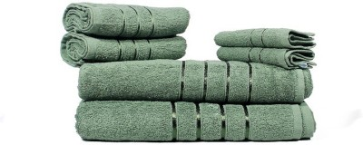 Indiesouq Cotton Bath, Hand & Face Towel Set