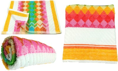 Addyz Cotton Bath, Hand & Face Towel Set