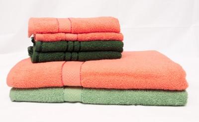 The Home Story 6 Piece Cotton Bath Linen Set