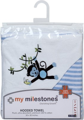My Milestones Cotton Bath Towel