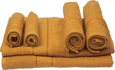 Aransa Cotton Bath, Hand & Face Towel Set