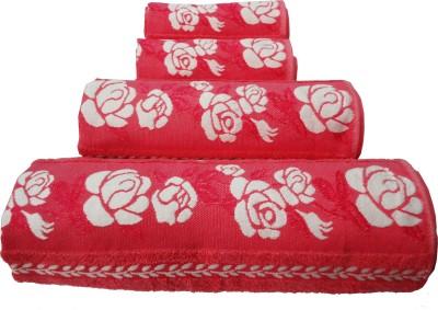Wow-But-How Cotton Bath, Hand & Face Towel Set