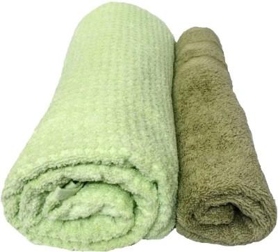Bath Hub Cotton Bath & Hand Towel Set