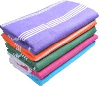 Sathiyas Cotton Bath Towel Set(Pack of 5, Multicolor)