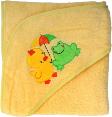 Belle Maison Embroidered Single Top Sheet Yellow