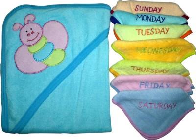 Xchildhood Cotton Bath & Hand Towel Set