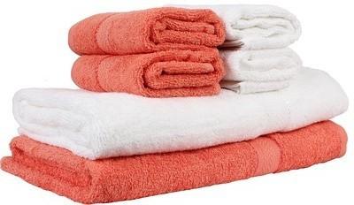 Bigshoponline Cotton Bath & Hand Towel Set
