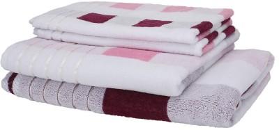 Chhalia Cotton Bath & Hand Towel Set
