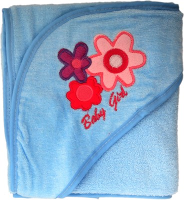 Belle Maison Embroidered Single Top Sheet Blue