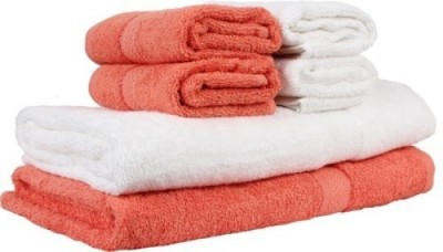Shoppingstore Cotton Set of Towels, Bath Towel, Hand Towel