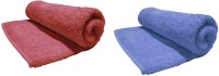 Bombay Dyeing Cotton Bath Towel(Pack of 2, Burgundy, riviera)