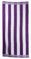 Sassoon Cotton Bath Towel(White, Purple)