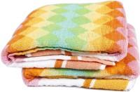 NKP Cotton Bath Towel Set(Pack of 2, Multicolor)