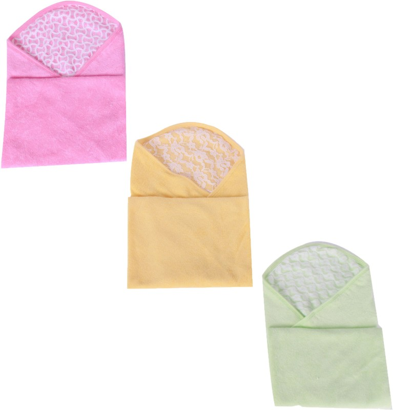 Jo Kidswear Cotton Bath Towel(Pack of 3, Multicolor)