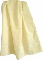 Sidheshwar Cotton Bath Towel(Light Yellow)