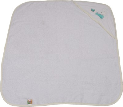 Belle Maison Embroidered Single Top Sheet White