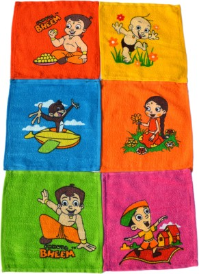 Chhota Bheem Cotton Face Towel Set