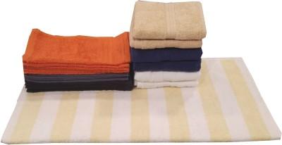 Valtellina Cotton Bath, Hand & Face Towel Set