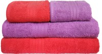 Lepid Cotton Bath & Hand Towel Set(Pack of 4, Multicolor)