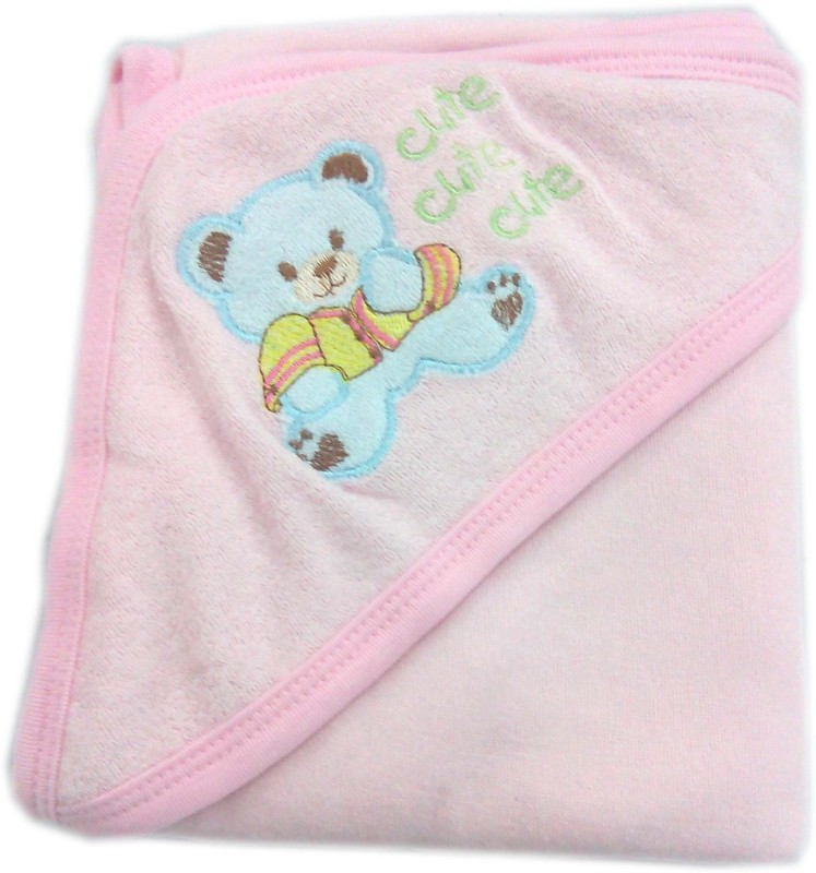 Baby's Clubb Cotton Baby Towel(Pink)