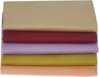 Bombay Dyeing Cotton Multi-purpose Towel(Pack of 5, Maroon Blue Silver Orange Cream)